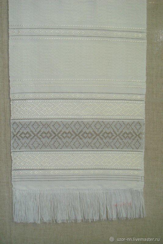 Linen wedding woven towel handmade, Towels2, Nizhny Novgorod,  Фото №1