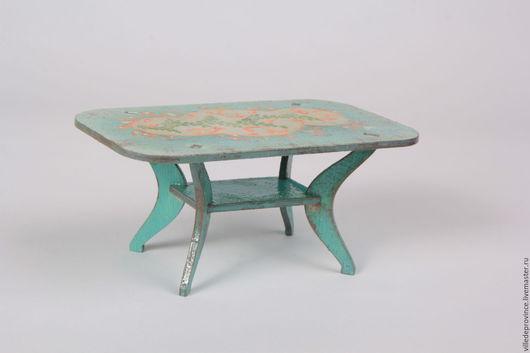 Столик коллекция `Мятная карамель и прованс`. На радость девчонкам.