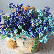 Цветы и флористика handmade. Livemaster - original item nezabudki. Handmade.