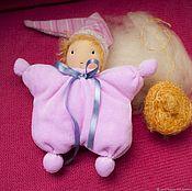 Вальдорфские куклы и звери ручной работы. Ярмарка Мастеров - ручная работа Гномик. Вальдорфская кукла-бабочка. Handmade.