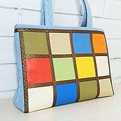 Сумки и аксессуары handmade. Livemaster - original item Tote, Women`s summer bag, for laptop, for documents, 179. Handmade.