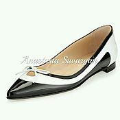 Обувь ручной работы handmade. Livemaster - original item Women`s ballet flats. Handmade.