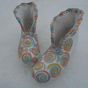 Обувь ручной работы. Ярмарка Мастеров - ручная работа Валеночки домашние. Handmade.