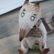 Куклы и игрушки ручной работы. Ярмарка Мастеров - ручная работа Волк Спарки. Handmade.