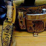 """Сувениры и подарки handmade. Livemaster - original item Подарочный набор """"Ягдташ №2"""". Handmade."""
