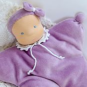 Куклы и игрушки handmade. Livemaster - original item Komforter doll-butterfly 26 cm. Handmade.