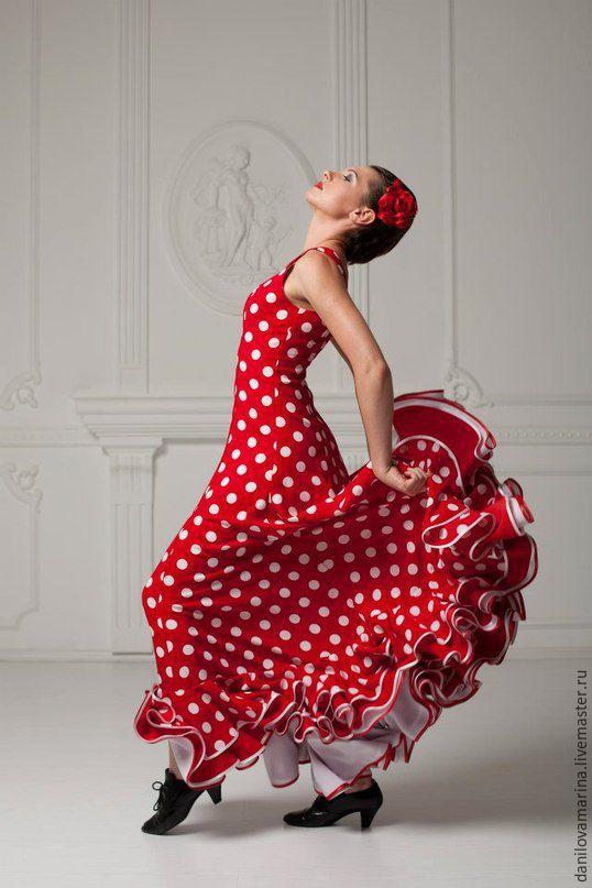Платье фламенко для танцев