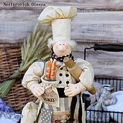 Куклы и игрушки ручной работы. Ярмарка Мастеров - ручная работа Повар-Пекарь.. Handmade.