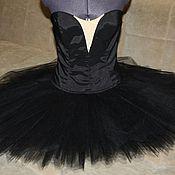 Одежда ручной работы. Ярмарка Мастеров - ручная работа Пачка классическая черная без отделки взрослая. Handmade.