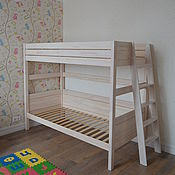 Для дома и интерьера ручной работы. Ярмарка Мастеров - ручная работа Двухъярусная кровать Мария. Handmade.