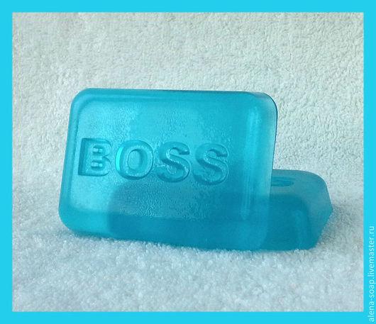 Мыло ручной работы. Ярмарка Мастеров - ручная работа. Купить Boss  для начальника мыло ручной работы. Handmade. Босс, начальнику