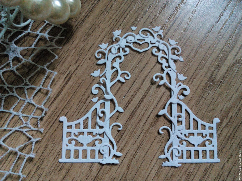 !Cutting for scrapbooking - Floral Arch Love cardboard design, Scrapbooking cuttings, Mytishchi,  Фото №1