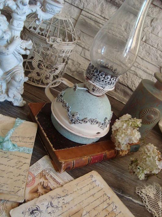 """Освещение ручной работы. Ярмарка Мастеров - ручная работа. Купить Лампа керосиновая """"...И лампы огонек..."""". Handmade."""