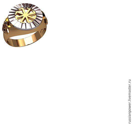 Кольца ручной работы. Ярмарка Мастеров - ручная работа. Купить перстень Коловрат. Handmade. Серебряный, обереги из серебра, мужское украшение