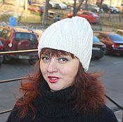 Аксессуары ручной работы. Ярмарка Мастеров - ручная работа спортивная шапочка шерсть. Handmade.