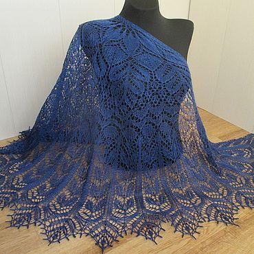 Accessories handmade. Livemaster - original item Sherwood shawl with beads.. Handmade.
