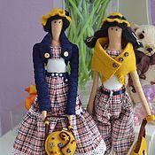 Куклы и игрушки ручной работы. Ярмарка Мастеров - ручная работа Две подружки! Две сестрички!. Handmade.