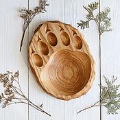 Посуда handmade. Livemaster - original item Board for feeding from ash