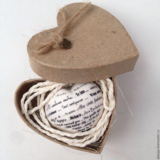"""Подарки для влюбленных ручной работы. Ярмарка Мастеров - ручная работа. Купить Сердце """"Я люблю тебя"""". Handmade. Сердце, для тебя"""