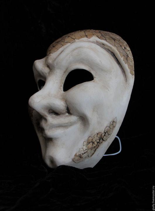 Подарки на Хэллоуин ручной работы. Ярмарка Мастеров - ручная работа. Купить Венецианская маска Джокер. Handmade. Венецианская маска, джокер