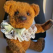 Мишки Тедди ручной работы. Ярмарка Мастеров - ручная работа Мишка Тедди авторский, 30 см, шерстяной мохер. Handmade.