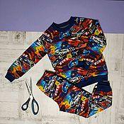 Костюмы ручной работы. Ярмарка Мастеров - ручная работа Трикотажный костюм для мальчика. Handmade.