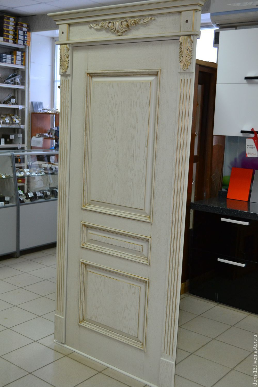 Дверь массив дуба 89271738867, Двери, Саранск,  Фото №1