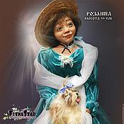Народная кукла ручной работы. Ярмарка Мастеров - ручная работа Народная кукла: РОЗАННА, воспоминания детства. Handmade.