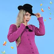 """Одежда ручной работы. Ярмарка Мастеров - ручная работа кофта """"purple cat"""". Handmade."""