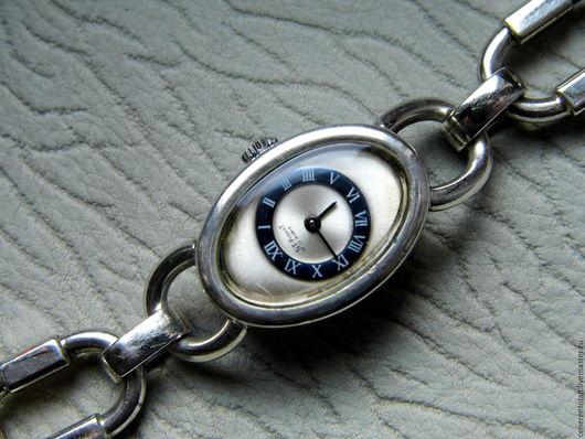 Винтажные украшения. Ярмарка Мастеров - ручная работа. Купить винтажные серебряные часы с браслетом. Handmade. Серебряный, женские часы