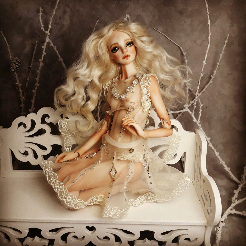 Куклы: Фарфоровая кукла.Милана, Куклы и пупсы, Смоленск,  Фото №1