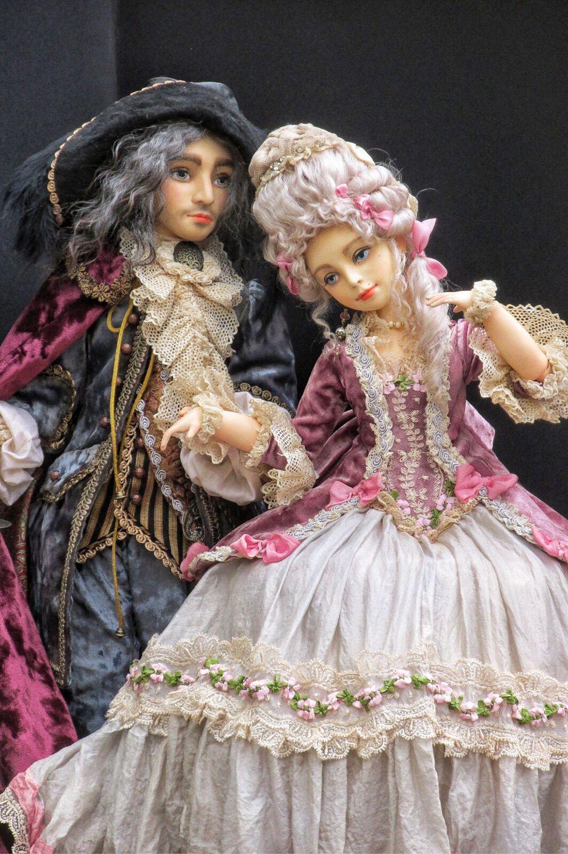 Авторская шарнирная кукольная пара, Шарнирная кукла, Харьков,  Фото №1
