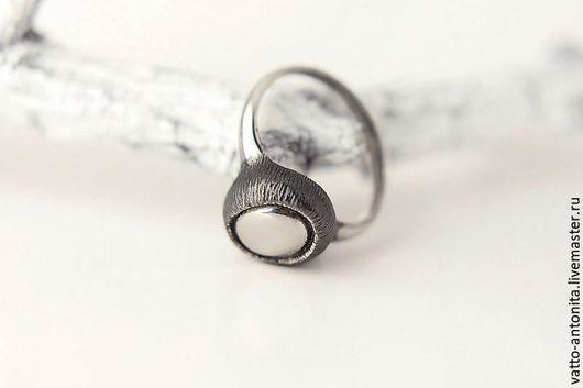 Кольца ручной работы. Ярмарка Мастеров - ручная работа. Купить Око Леса - кольцо из серебра. Handmade. Кольцо серебро