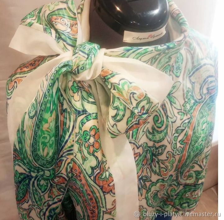 блуза с бантом, Блузки, Тюмень,  Фото №1