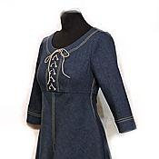 Одежда ручной работы. Ярмарка Мастеров - ручная работа Платье Джинсовая вечеринка. Handmade.