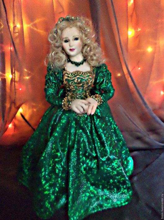 Коллекционные куклы ручной работы. Ярмарка Мастеров - ручная работа. Купить красавица и чудовище -подарок  для интерьера. Handmade. Комбинированный, юбилей
