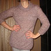 Одежда ручной работы. Ярмарка Мастеров - ручная работа пуловер розовая дымка. Handmade.
