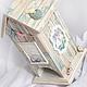 """Кухня ручной работы. Ярмарка Мастеров - ручная работа. Купить Чайный домик """"Морская резиденция Маленького Принца"""". Handmade. Голубой"""