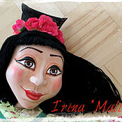 Куклы и игрушки ручной работы. Ярмарка Мастеров - ручная работа Театральная кукла на гапите. Handmade.