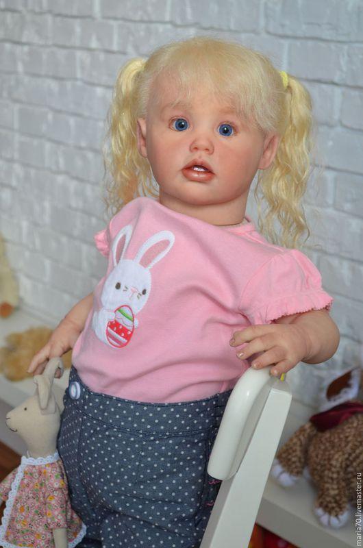 Куклы-младенцы и reborn ручной работы. Ярмарка Мастеров - ручная работа. Купить Ариэль - кукла реборн. Handmade. Комбинированный, синтепон