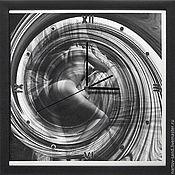 """Для дома и интерьера ручной работы. Ярмарка Мастеров - ручная работа """"RELAX"""" из песка авторские часы. Handmade."""