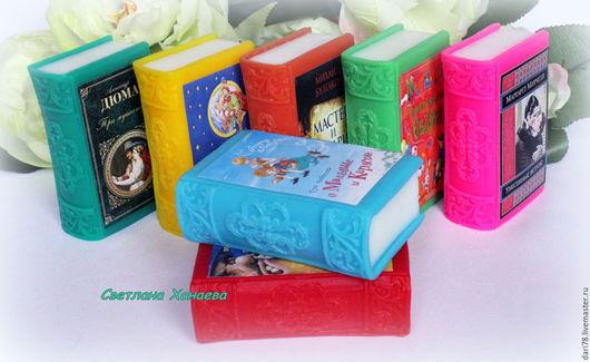 """Мыло ручной работы. Ярмарка Мастеров - ручная работа. Купить Мыло """"Книга"""". Книга. Сказки.. Handmade. Комбинированный, мыло книга"""