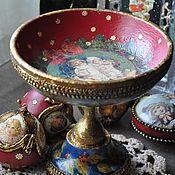 Подарки к праздникам handmade. Livemaster - original item The candy bowl. Handmade.
