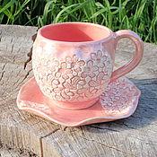Посуда handmade. Livemaster - original item Tea couple