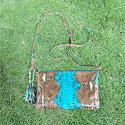 Сумки и аксессуары handmade. Livemaster - original item Python handbag for IRIS phone. Handmade.