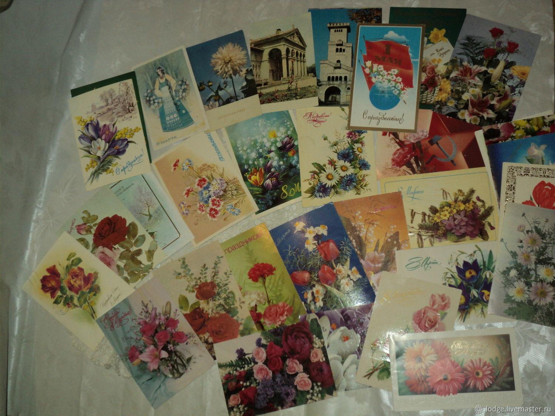 Картинки милота, набор открыток ретро
