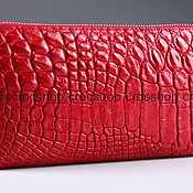 Сумки и аксессуары handmade. Livemaster - original item Clutch bag made from crocodile skin IMA0081R5. Handmade.