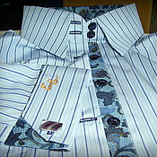 Одежда handmade. Livemaster - original item Shirt office. Handmade.