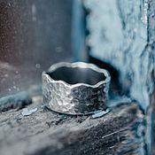 Украшения ручной работы. Ярмарка Мастеров - ручная работа Кольцо из  серебра - Волна перемен. Handmade.