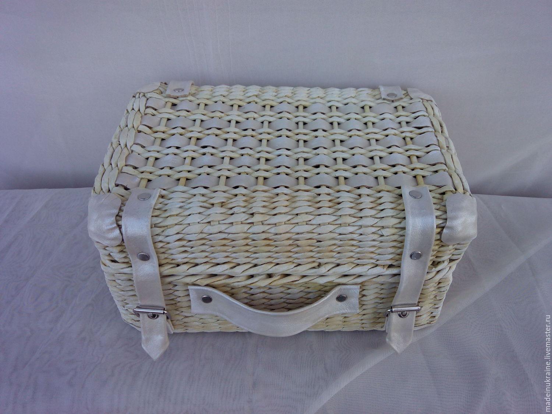 Плетеные чемоданы из лозы сумки дорожные купить в минске